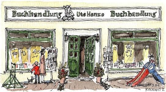 Buchhandlung Wolgast, Inhaberin Ute Henze