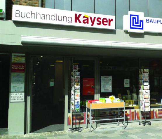 Buchhandlung Kayser